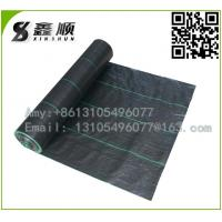 Wholesale best quality pp anti UV weed mat woven ground cover geotextile black plastic weed barrier from china suppliers