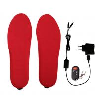 Wholesale Electric Heated Insoles 3.7v Battery Operated with Built-in Heating Element from china suppliers