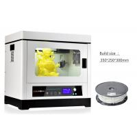 Wholesale Cura Software Metal Casting 3D Printer Industrial Grade with Dual Feeding Motor from china suppliers