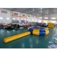 Wholesale Rave Aqua Jump Eclipse Water Parks , Inflatable Water Games Chinese Supplier from china suppliers