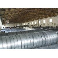 Wholesale Prison Galvanized Razor Barbed Wire , Rust Resistance Concertina Razor Wire from china suppliers