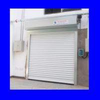 Wholesale 220V Exterior Aluminum Shutter White Push Button Automatic Roller Door from china suppliers