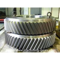 Wholesale 20CrMnTi Steel Large Ring Gear Heat Treatment Transmission Gears from china suppliers
