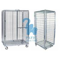 Wholesale 5pcs Wire Mesh Enclosures Delivery Roll Cages Power Coated Surface from china suppliers