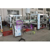 Wholesale Pneumatic Capping Type Bottled Water Filling Machine With Adhesive Labeling Machine from china suppliers