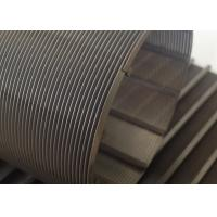 Wholesale 0.1mm Slot Rotary Wire Mesh Cylinder 76mm Diameter For Wastewater Treatment from china suppliers