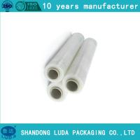 Wholesale plastic pallet wrap pe clear stretch film 500mm x 23mic x 300m from china suppliers