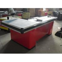 Wholesale Grocery Store / Supemarket Conveyor Belt Checkout Counter Anti - Corrosion Durable from china suppliers