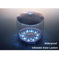 Wholesale White Portable Inflatable Solar Lantern Waterproof Outdoor Led Camping Light from china suppliers