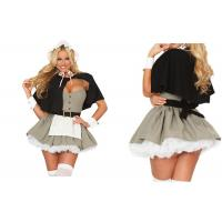 Wholesale Pilgrim Fantasy  Carnival Christmas Party Adult Costumes Black Gray And White from china suppliers