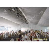 Wholesale 20m Width Outdoor Event Tents , Full Decorations Large Tents For Outdoor Events from china suppliers