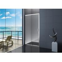 Wholesale Villa 6mm Tempered Glass Sliding Shower Door with Handle EN12150 from china suppliers