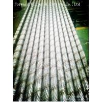 Wholesale Exhausted 8 Inch Perforated Steel Pipe , Filtration / Separation Tubes With Different Pipe from china suppliers