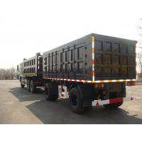 Wholesale 27 Feet-2 Axles-Draw Bar Side Dump Trailer from china suppliers