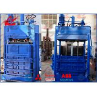 Wholesale Best Quality Vertical Waste Cardboards Balers Hydraulic Waste Baling Machine from china suppliers