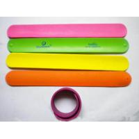Wholesale Silicon slap wristbands from china suppliers