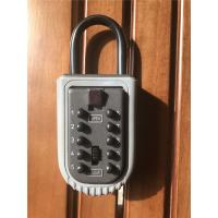 Wholesale Portable Push Button Door Key Lock Box Safe for Outdoor /  Security Key Box from china suppliers