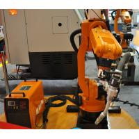 Wholesale High Efficiency Assembly Line Small Welding Industrial Robot , Installed On Floor from china suppliers