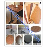 Wholesale sell oak color restaurant table top from china suppliers