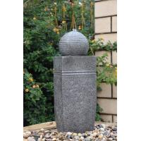 Wholesale Outdoor Sphere Water Fountains , Granite Ball Fountains In Fiberglass / Resin Material from china suppliers