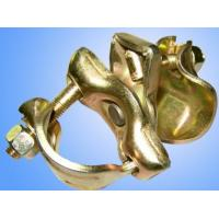 Wholesale EN74  Pressed Metal Parts scaffolding fixed clamp and swivel  OEM service from china suppliers