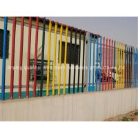 Wholesale Pvc Coated Steel Palisade Fencing Pre Hot Dipped Galvanized Tube Material from china suppliers