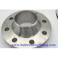 Wholesale Pipeline Connection Forged Steel Welding Neck Flange 4'' S40 F304H Class300 from china suppliers