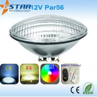 Wholesale PAR56 15W Led Underwater Lights remote control for Swimming Pool from china suppliers