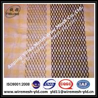 Wholesale plastic coated aluminum expanded metal gutter guard,gutter mesh from china suppliers