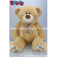 "Wholesale 19.7"" ECO-Friendly Material Cute Kids Plush Toys Plush Teddy Bear With Check Design Scarf from china suppliers"