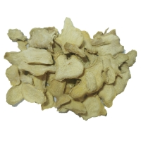 Wholesale None GMO 1000cfu/G 7mm Spicy Yunnan dehydrated ginger flakes from china suppliers