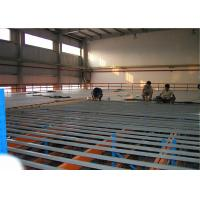 Quality Powder Coating Industrial Steel Mezzanine Floors With Walkways For Warehouse for sale