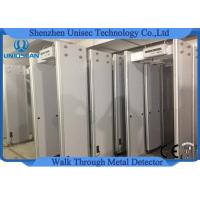 Wholesale 0-99 Sensitivity Archway Metal Detector security scanner walk through gate with 6 zones from china suppliers