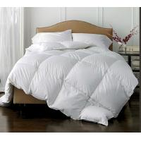 Wholesale Polyester Fabric White Duck Feather downproof  Quilt , High Grade Light weight Comforter from china suppliers