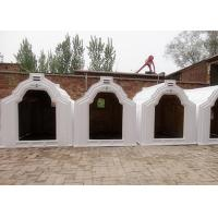 Wholesale Outdoor Plastic Hygienic Calf Hutches With Three Air Vents , 1.7m Height from china suppliers