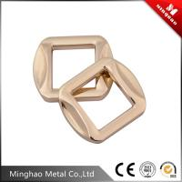 Wholesale 12.5mm fashion metal bag square buckle , bag buckle accessories with light gold from china suppliers
