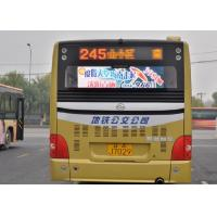 Wholesale P5 Multi Color Bus LED Display Bus Rear Advertising / outdoor led destination boards for buses from china suppliers