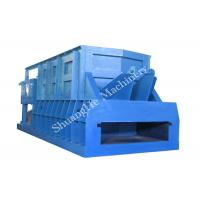 Quality Horizontal Scrap Metal Shear With Feeding Conveyor , 1200mm Trapeziform Blade Length for sale