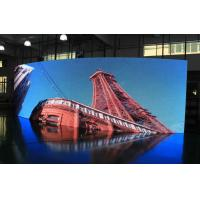 Wholesale Flexible P6 Indoor Curved LED Screens Full Color , IP31 , SMD LED from china suppliers