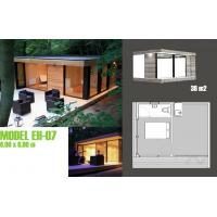 Wholesale Modern Moveable Accents Holiday Home / Prefabricated Garden Studio For Holiday Living from china suppliers