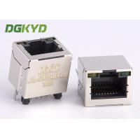 Wholesale Shield 180 Degree Vertical Entry Rj 45 Connector Modular Jack For Ethernet Cable from china suppliers