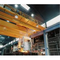 Wholesale Bidge Foundry Crane With Hook Steel Metallurgic Workshop Ladle Crane 200/50t from china suppliers
