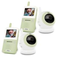 "Wholesale 7"" LCD Wireless Signal Baby Monitor with 1 Pcs Dual CCTV Camera/Audio & Video/Day & Night from china suppliers"