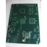 Buy cheap FR4 1.6mm Board thickness 10 Layer PCB with immersiongold, gold finger Surface design from wholesalers