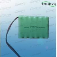 Wholesale 7.2V 1000mAh Nimh Rechargeable Battery AA size With Cables For Emergency Lights from china suppliers