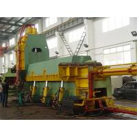 Yellow Hydraulic Metal Cutting Shear Machinery For Thin & Light Scraps