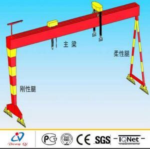 Wholesale 250 ton Door Type Shipbuilding Gantry Crane , Industrial Lift Equipment from china suppliers