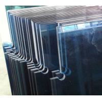 Wholesale 10mm Tempered Safety Glass Doors with Cutouts for Patch Fittings Ford Blue Colour from china suppliers