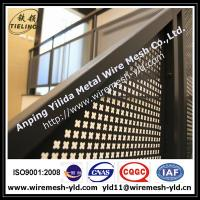 Wholesale 2.0 thick decorative hole perforated metal sheet for Stair railing from china suppliers
