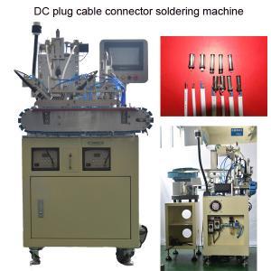 Quality DC Jack Connector TV Plug Auto Wire Soldering Machine 2000pcs/H for sale